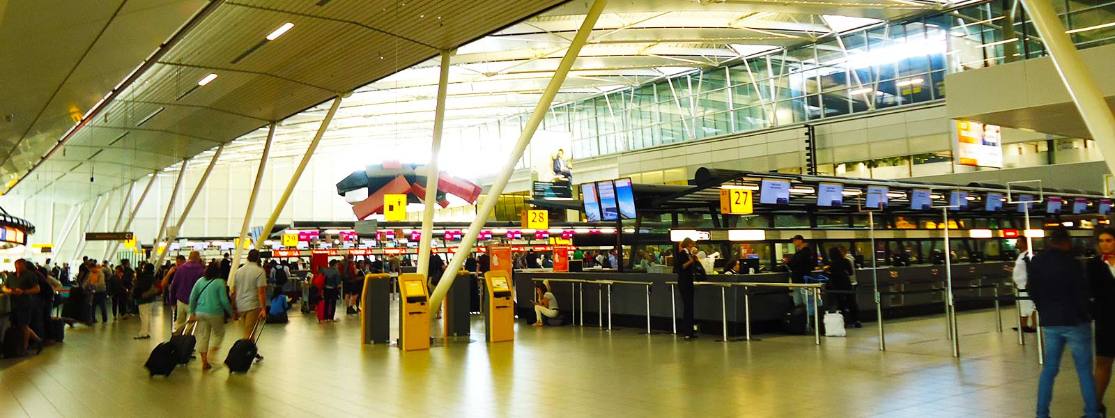 Verterk terminal 3 Schiphol
