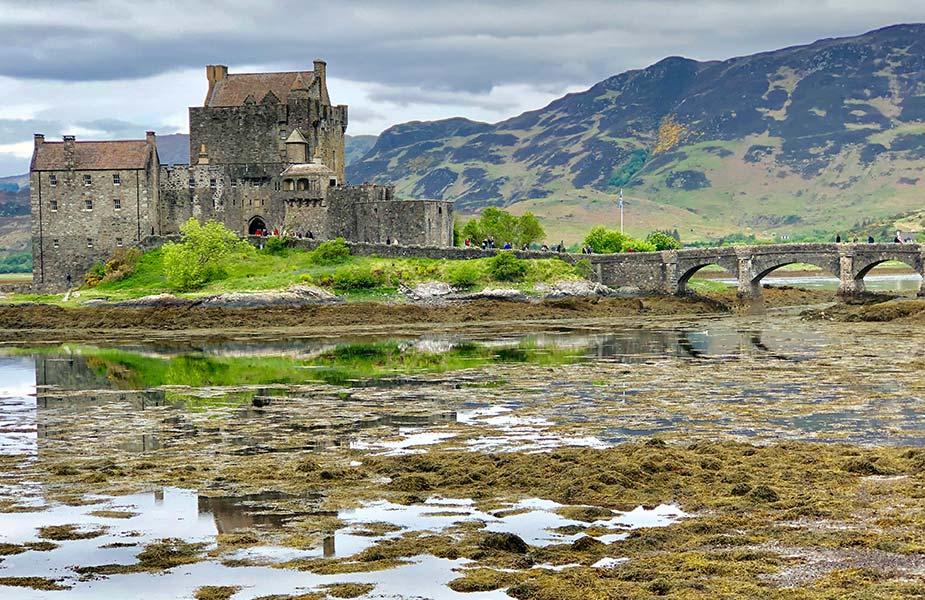Kasteel midden in de natuur gelegen in Schotland