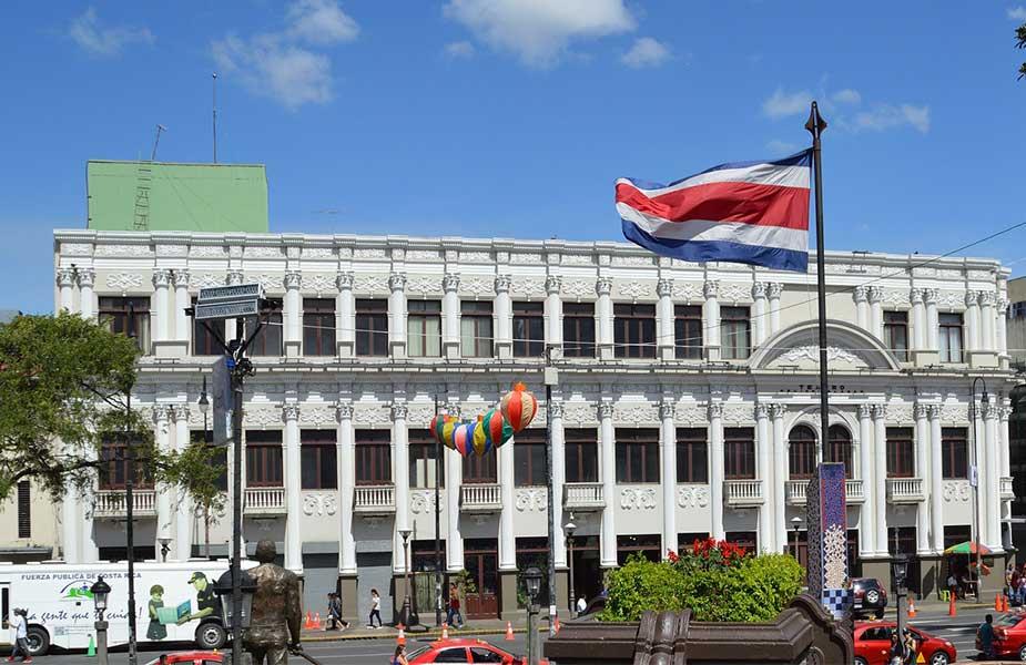 Architectuur in San Jose in Costa Rica