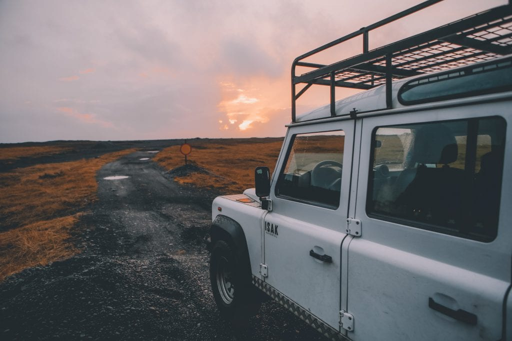 Autorijden in IJsland