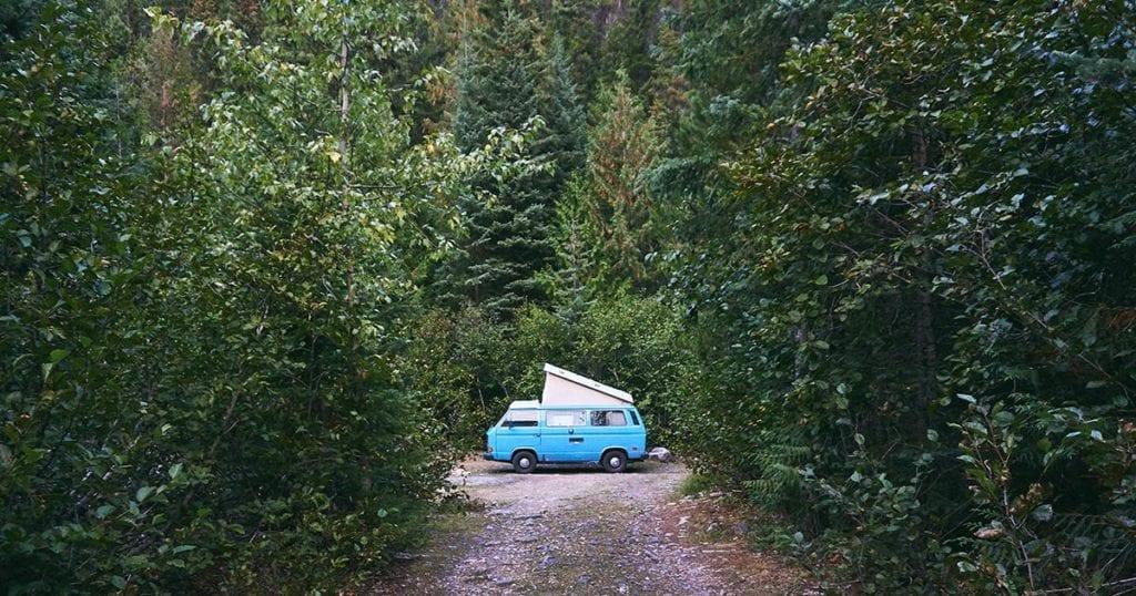 camperroutes door canada