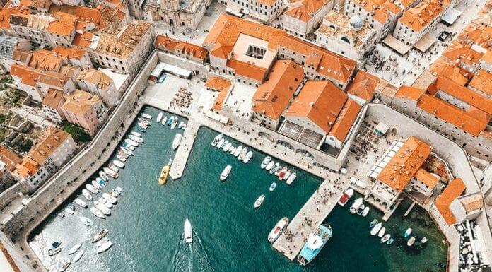 kustgebieden in kroatie