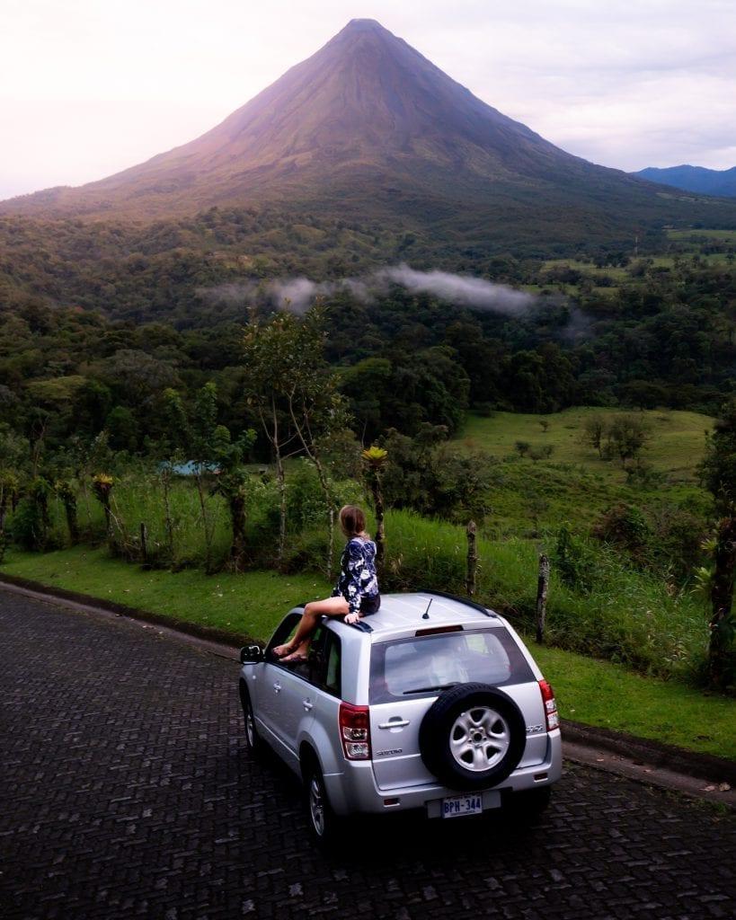 Tijdens je reis naar Costa Rica kun je genieten van deze uitzichten
