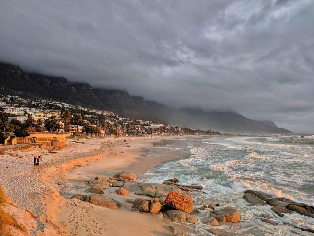 Strand- en wateractiviteiten in Zuid-Afrika
