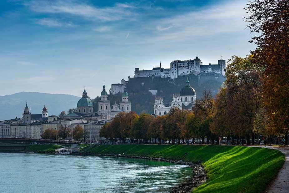 Salzburg stedentrip Europa