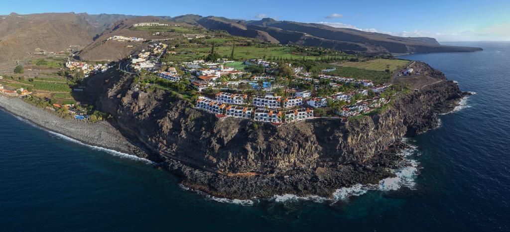 Ligging van hotel Jardin Tecina op La Gomera