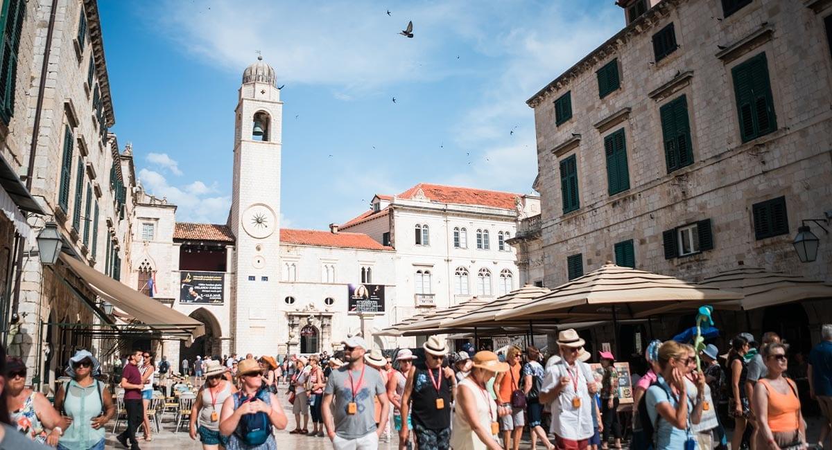 De oude stad van Dubrovnik bezoeken tijdens een stedentrip Dubrovnik