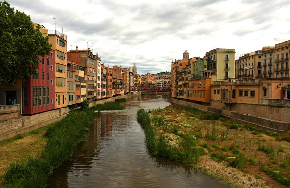 Het middeleeuwse centrum van Girona