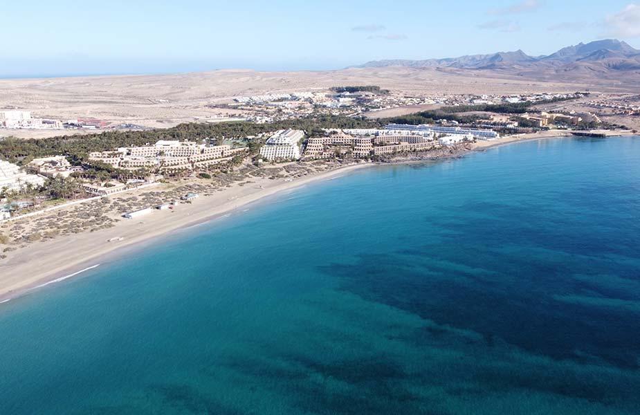 Mooi strand voor vakantie Canarische eilanden: Costa Calma Fuerteventura