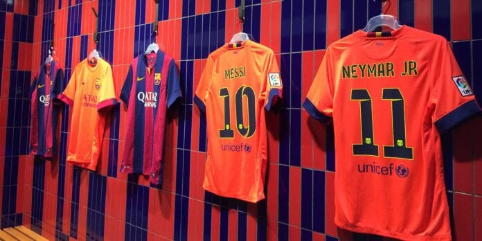Shirts FC Barcelona Messi Neymar