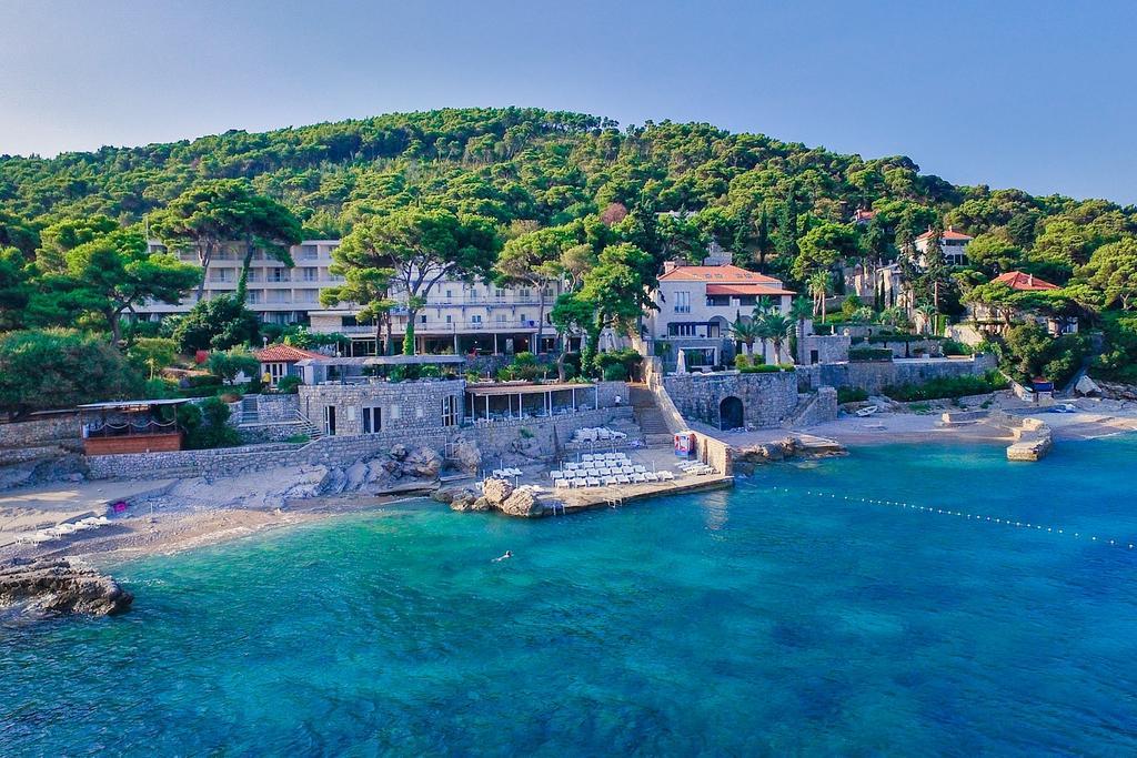 Ligging Hotel Splendid Dubrovnik aan de baai