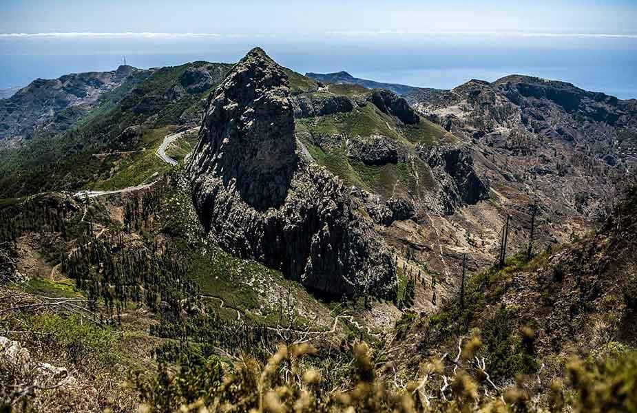 De natuur en het landschap op La Gomera