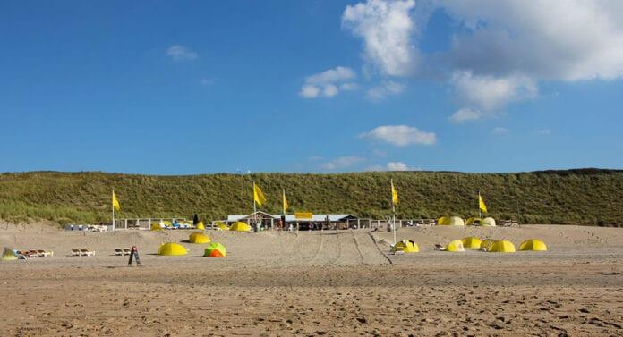 Het naaktstrand van Zandvoort