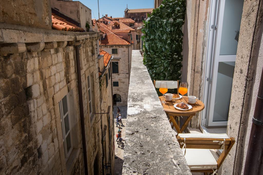 Balkon van Scalini Palace in Dubrovnik