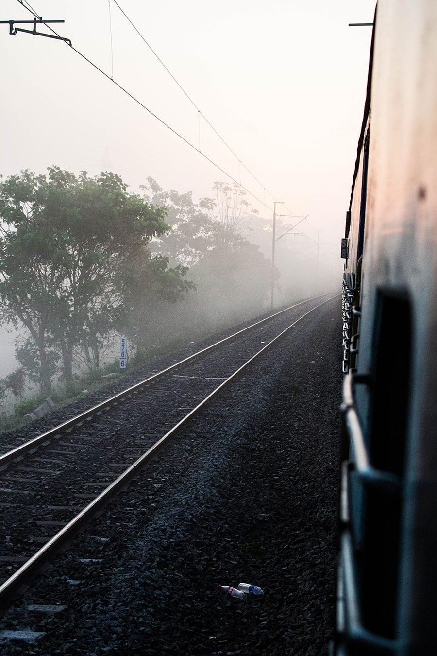 treinreizen door zuid-india