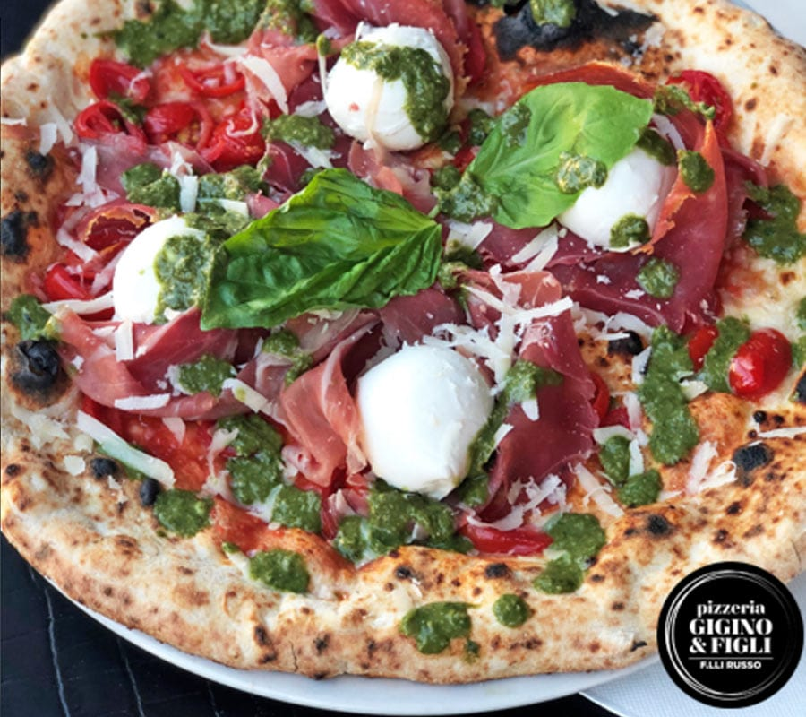 Pizza's in Rome en Napels