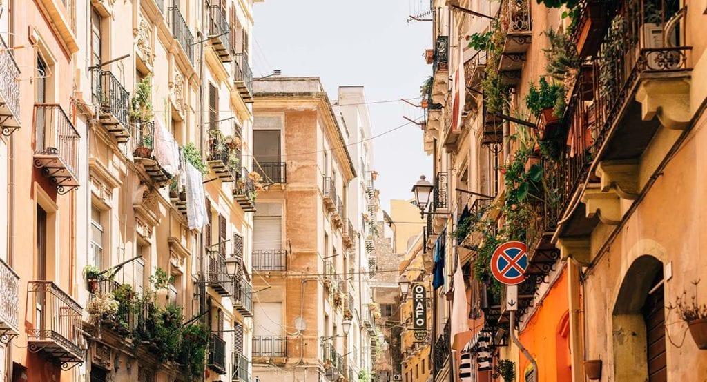 Cagliari, Sardinië