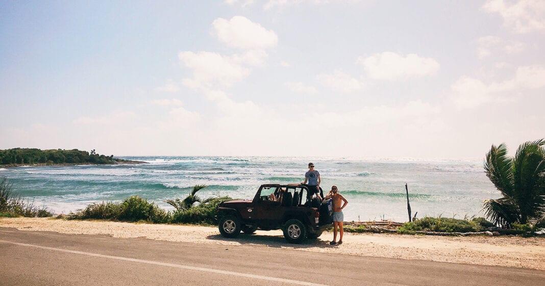 stranden aan de mexicaanse kust