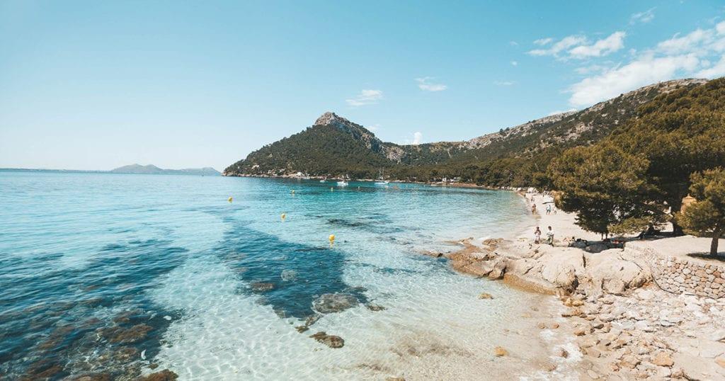 stranden op mallorca