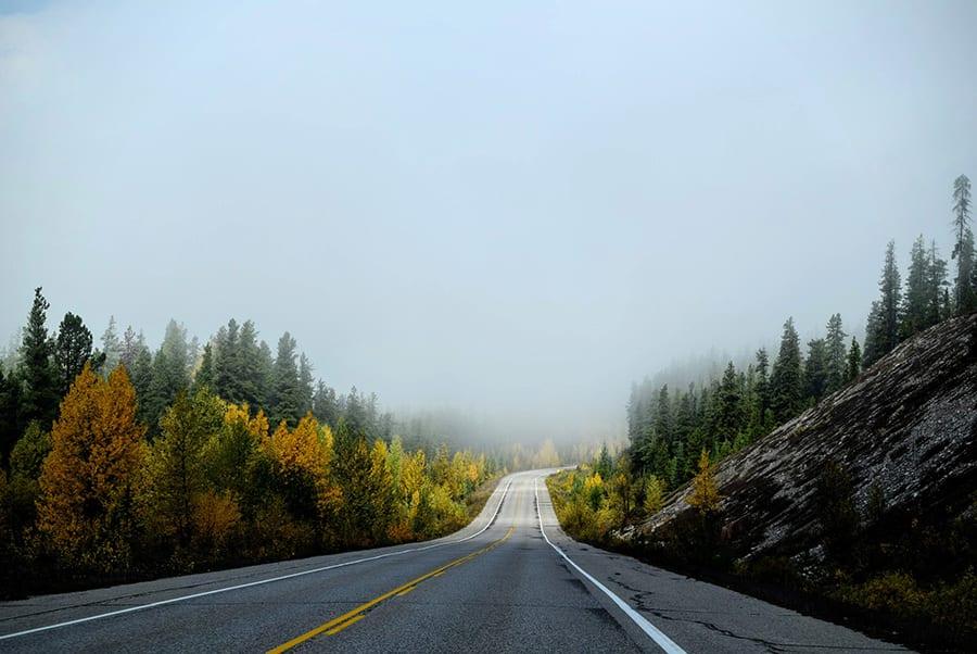 Één van de must visits: Jasper National Park