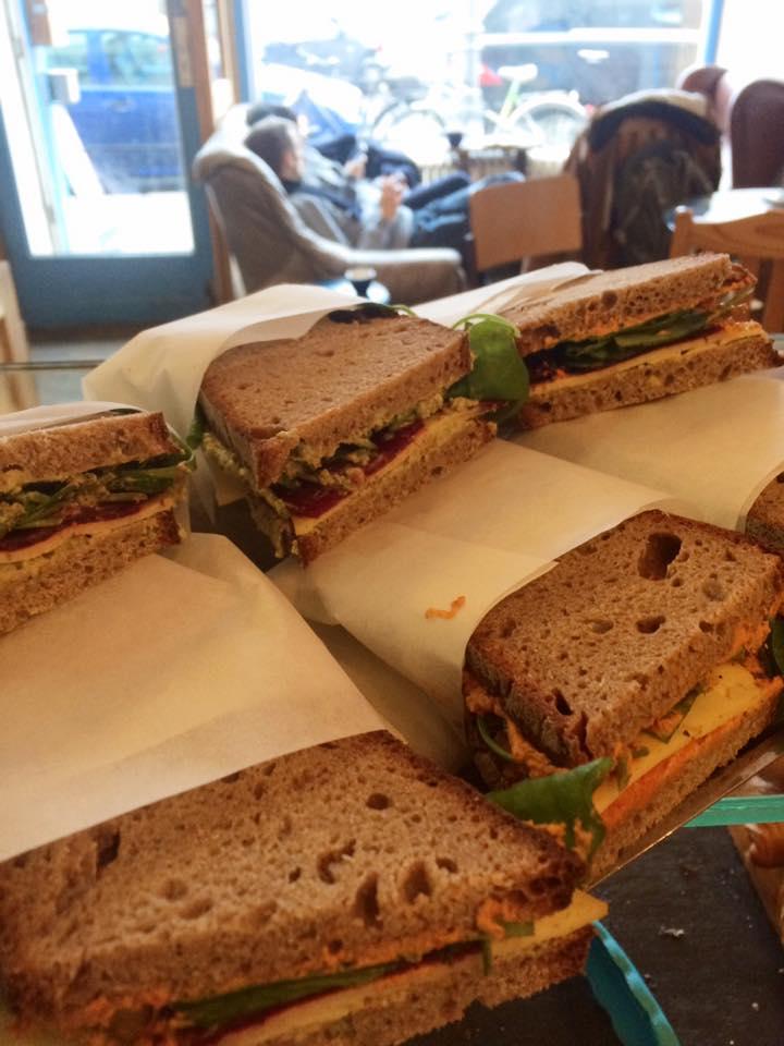 Sandwiches als  Leuchtstoff lunch in Berlijn