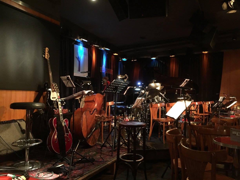Interieur A-trane jazzclub in Berlijn