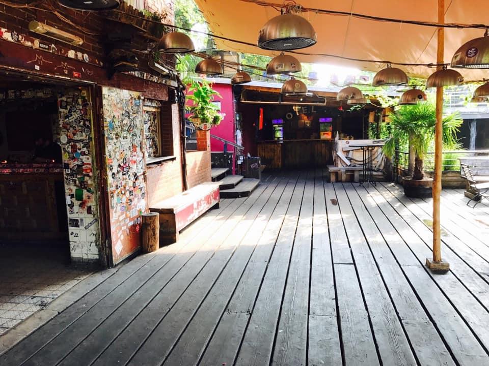 Interieur Club der Visionaere in Berlijn