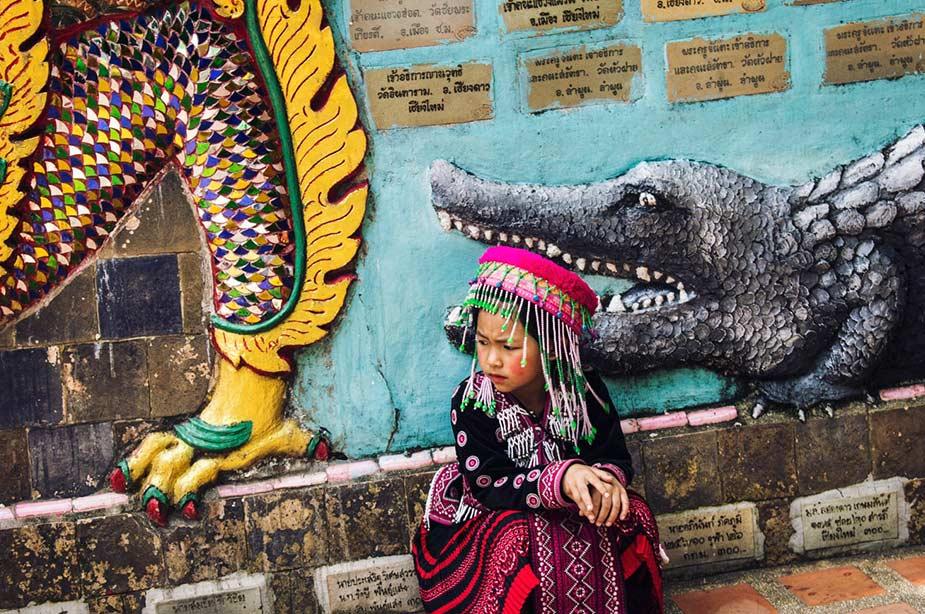 Etiquette tips in Thailand, ook bij kinderen bij tempels