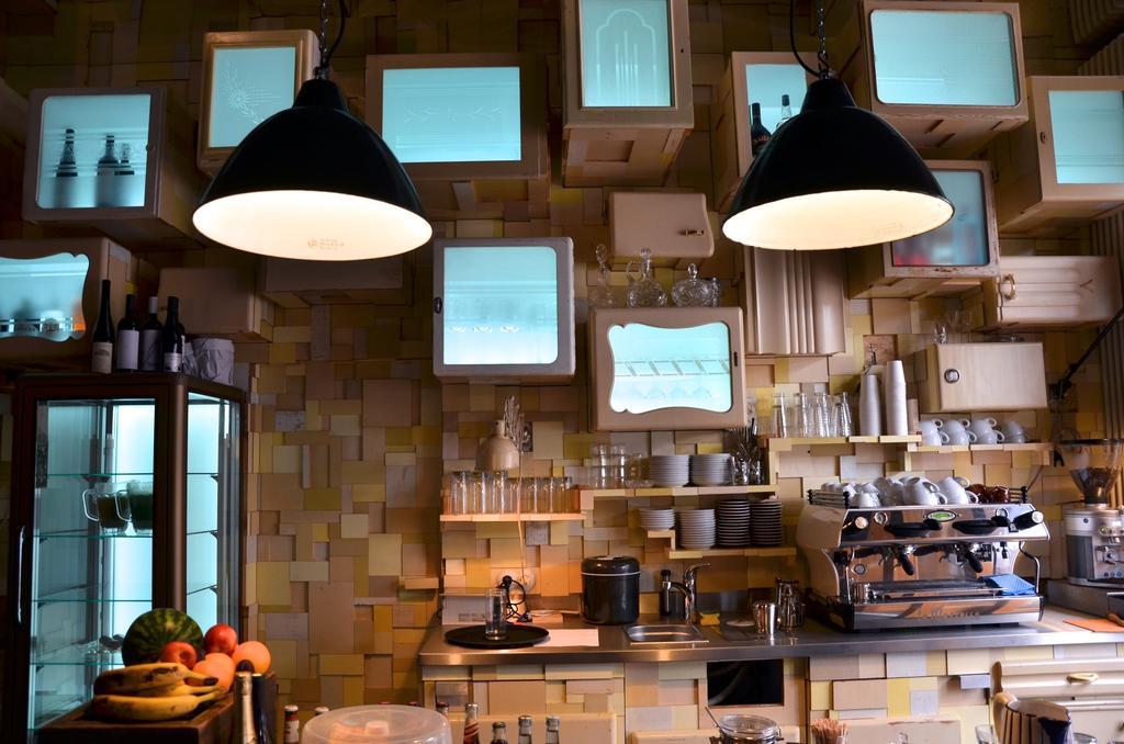 Gezellige koffiebar van Aparthotel Linnen