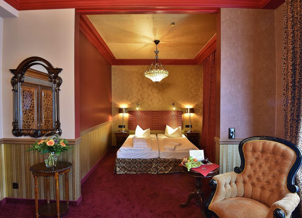 Interieur slaapkamer Hotel Myer Berlijn