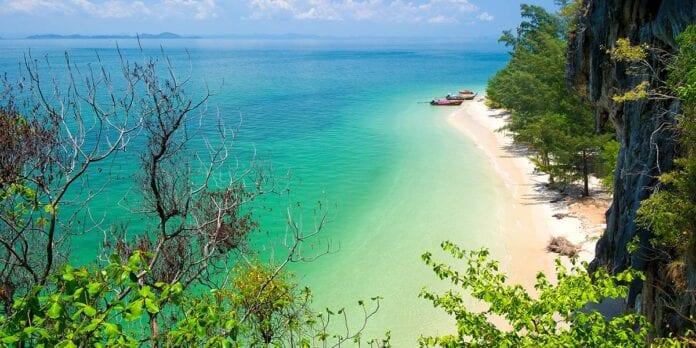 Kust van Trang Thailand