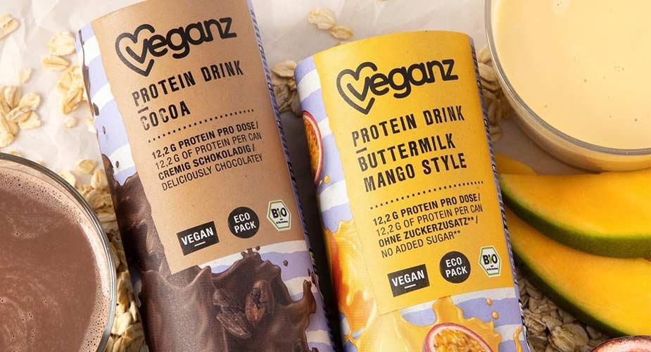 Producten van de Veganz supermarkt in Duitsland