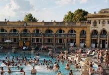 Badhuizen in Boedapest