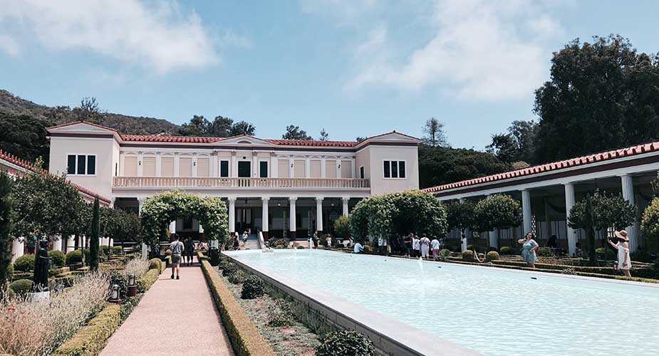Getty Villa museum Los Angeles