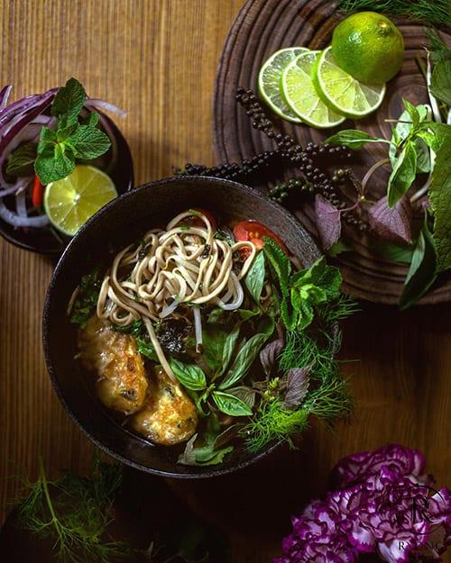 vegan lunchen berlijn bij ryong