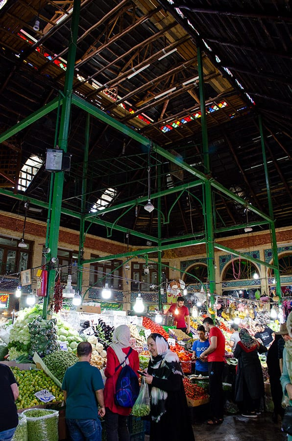 Tajrish bazaar, Must visits Tehran