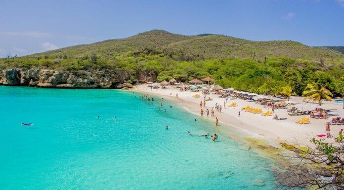 Strandje op Bonaire
