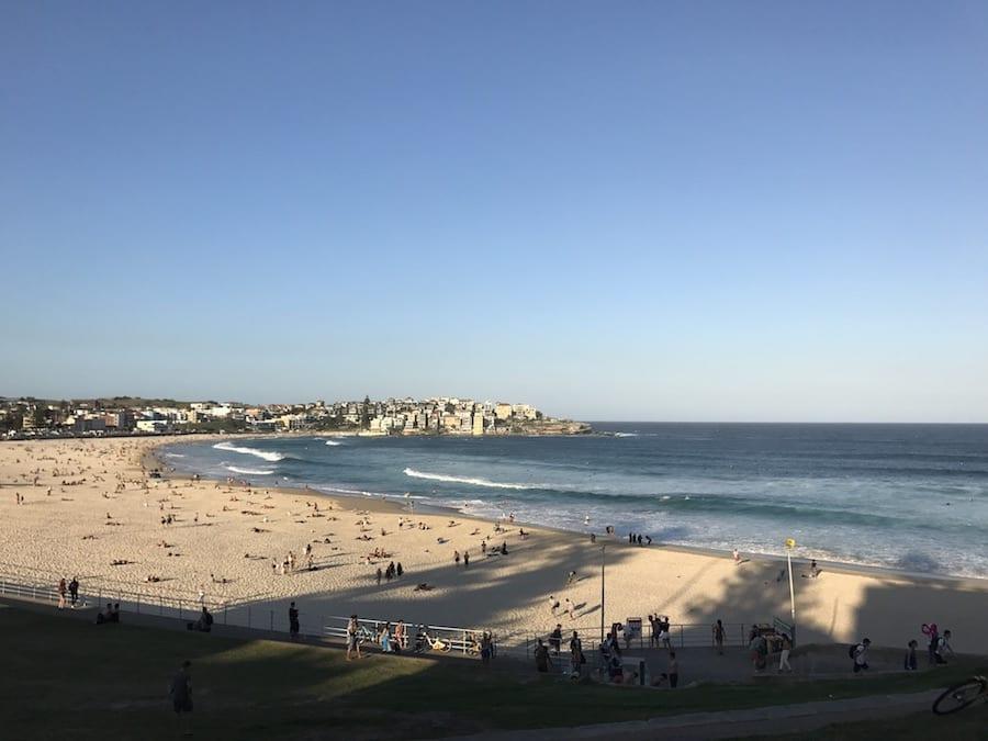 Strand van Bondi Beach in Australië