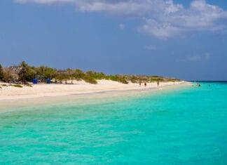 Het No Name Beach strand op Klein Bonaire