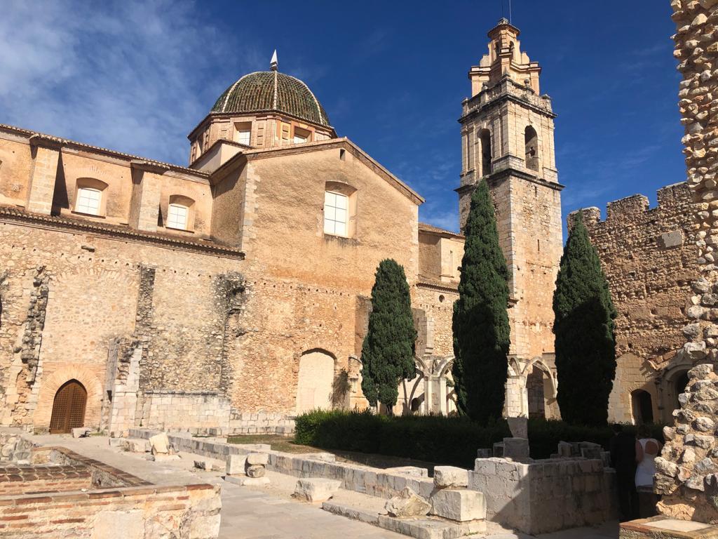 Dit Klooster kun je zien tijdens een dagtrip buiten Valencia