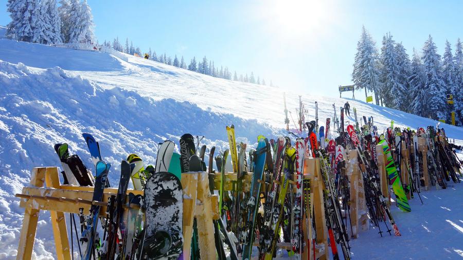 wintersport materiaal