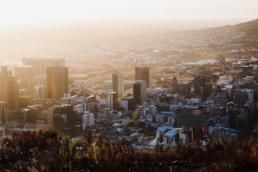 reisroutes door Zuid-Afrika