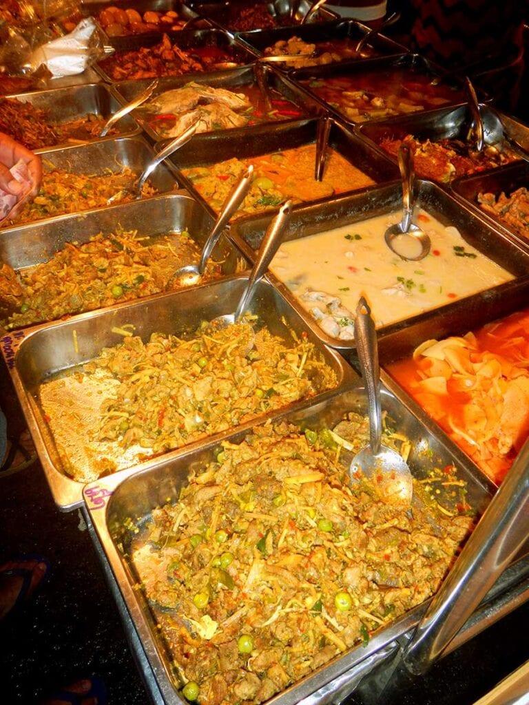 Eten avondmarkt