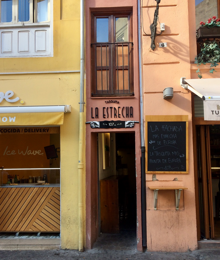 Smalste huisje van Europa. in Valencia