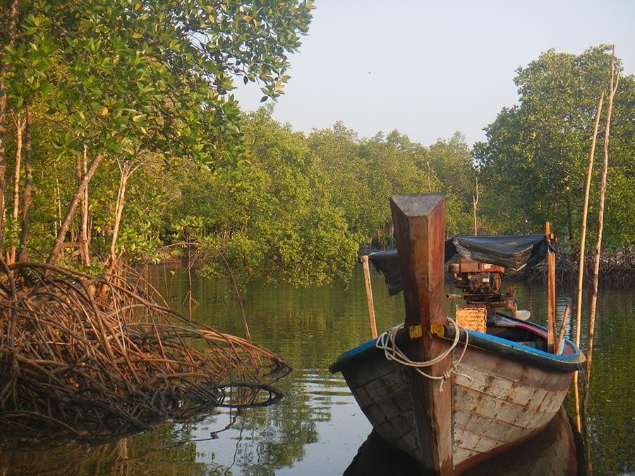 Vissersboot Thailand