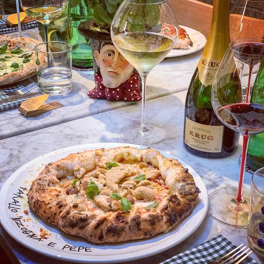 Pizza bij Concettina ai Tre Santi