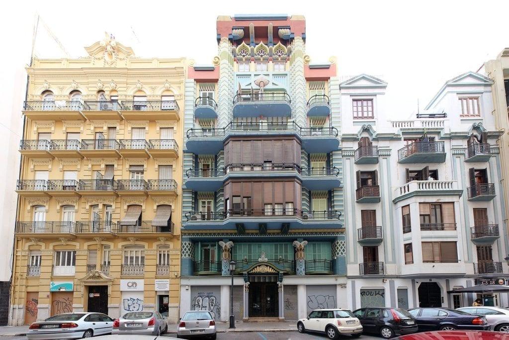 Ruzafa kunst en cultuur in Valencia