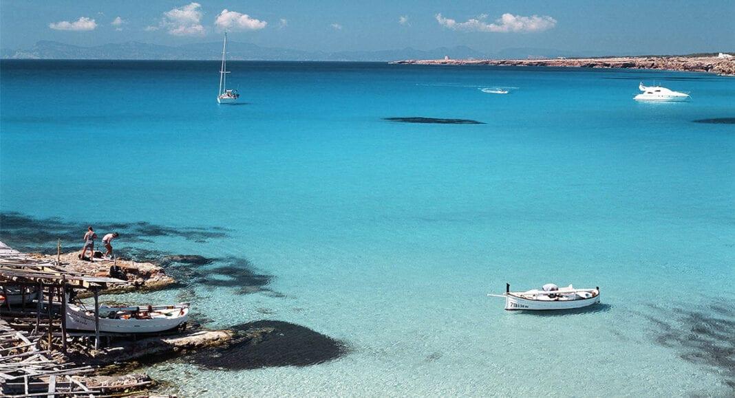 Formentera strand