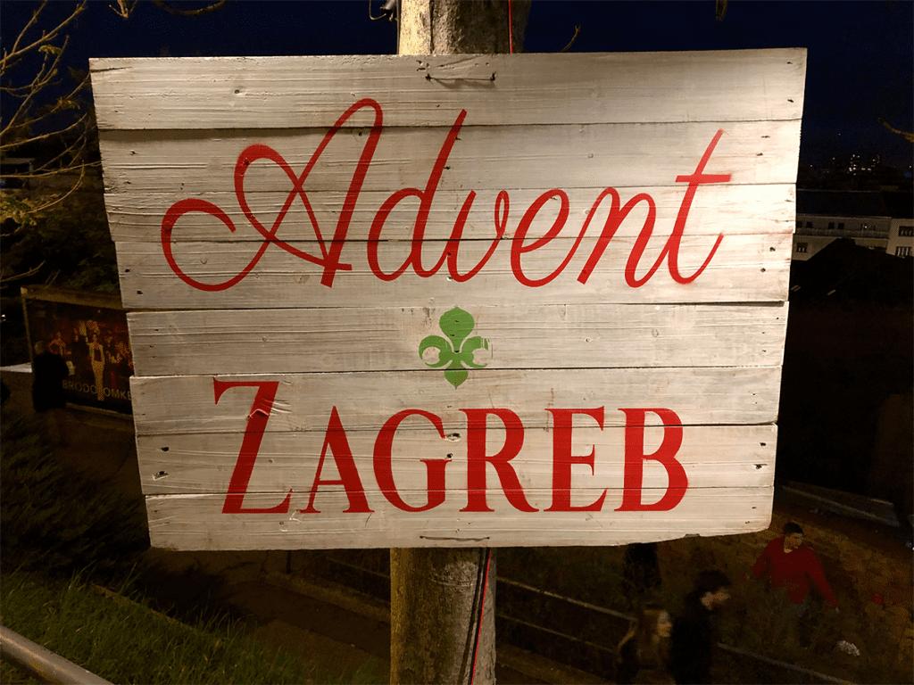 Advent in Zagreb zoals de periode van de kerstsfeer in Zagreb wordt genoemd.