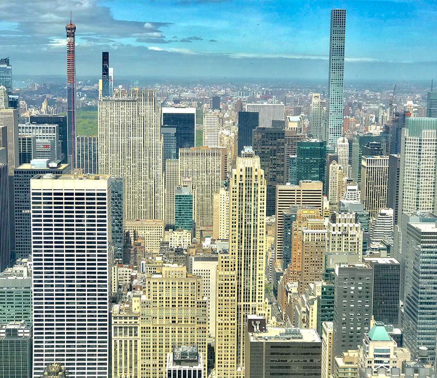 uitzicht New York
